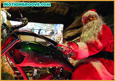bass-pro-santa-on-bike