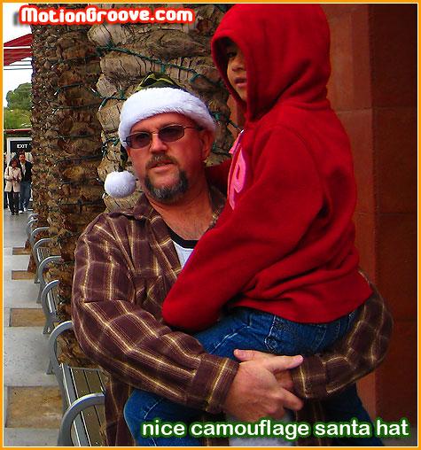 camouflage-santa-hat