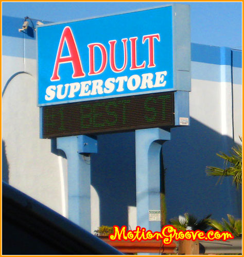 las vegas adult super store The Desert Is A Funny Place. only in VEGAS…