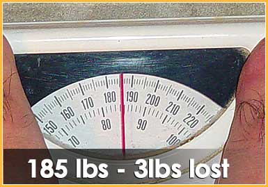 Lost 3 lbs