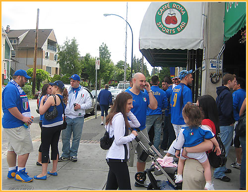 Caffe Roma Vancouver, Euro Cup 2008