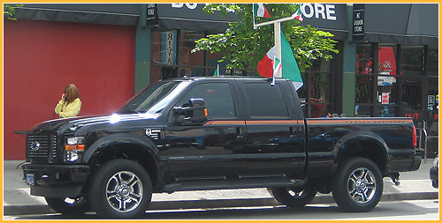 Caffe Roma Vancouver, Ford Truck