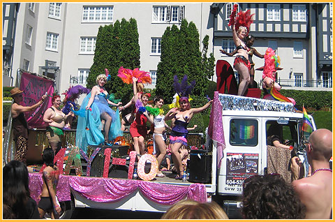 Gay Pride Float Vancouver 2008